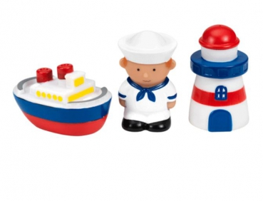 "Fashy Spritzfiguren ""Marine"" - 3er Set"
