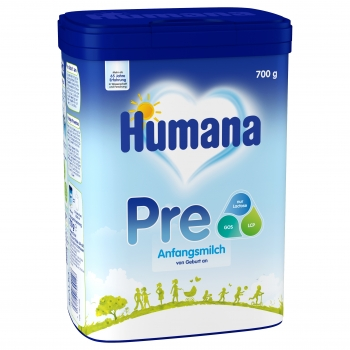 Humana Anfangsmilch PRE 700g - MyPack